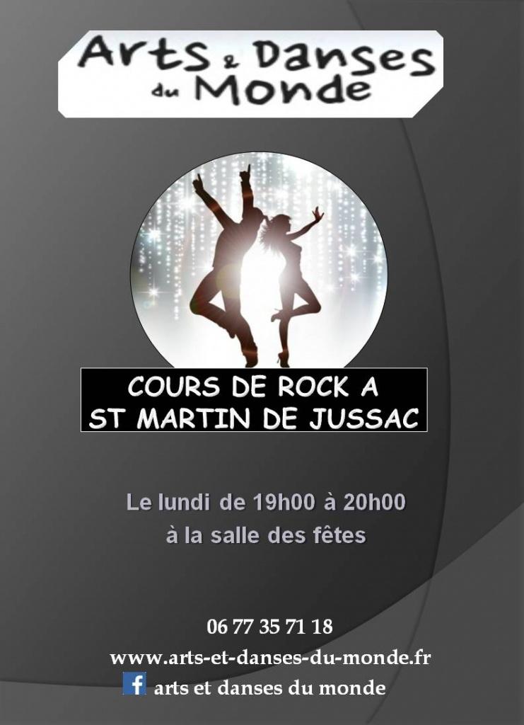 Affiche cours de rock